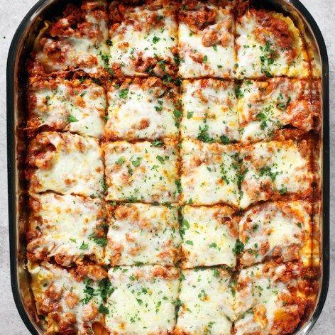 Clean Eating Lasagna