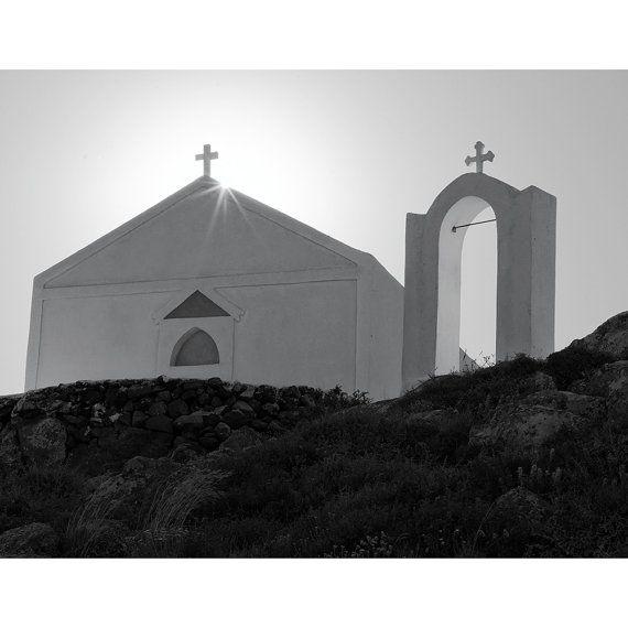 """""""Church Above Oia, Santorini"""""""