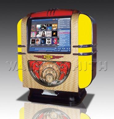 Rock-Ola Q Table Top Digital Music Center Jukebox