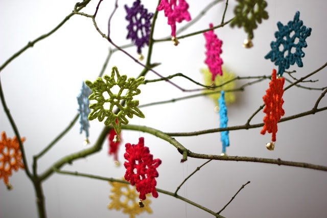 Very simple snowflake pattern, photograph tutorial so perfect for a beginner :)