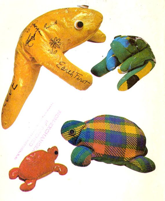 Turtle Frog bean bags Animal bean bags McCalls 3000 by HeyChica, $8.99