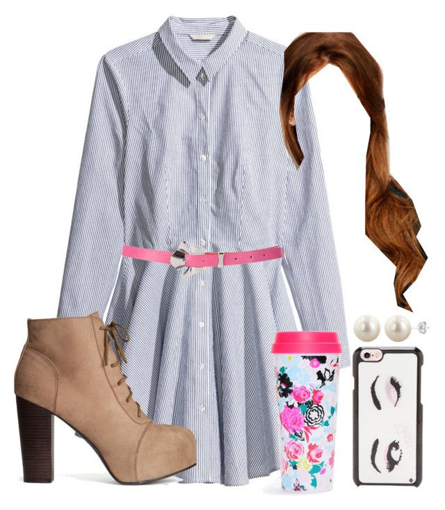 Untitled #240 by natashayoung on Polyvore featuring polyvore fashion style H&M Kate Spade BCBGMAXAZRIA clothing