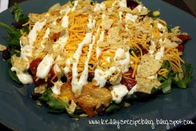 Southwestern Chicken Salad | A love pat for my tummy | Pinterest