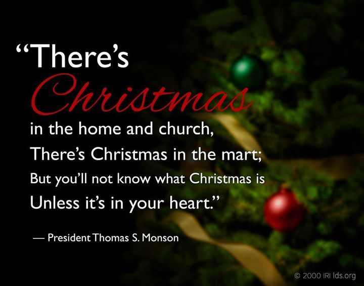 Get In The Spirit Christmas Lds Quotes: 17+ Images About Christmas - LDS On Pinterest