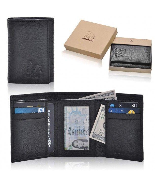 e69b0f5fcaba Men's Bags, Wallets,Handmade Blocking Genuine 3 5x4 4x0 75 - Black ...