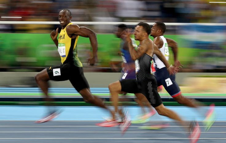 15 great running moments from the 2016 Rio Olympic Games