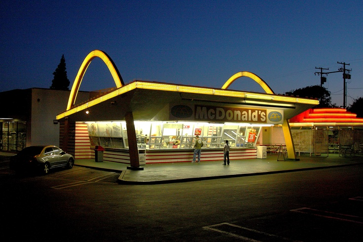 Saved: America's Oldest Surviving McDonald's (Photo: Marc Evans).  We used to drive by this McDonalds all the time when I was younger.