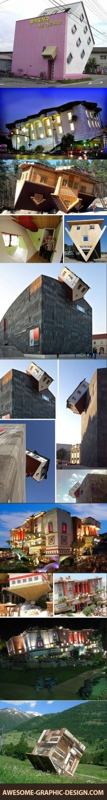 Awesome - Upside down houses