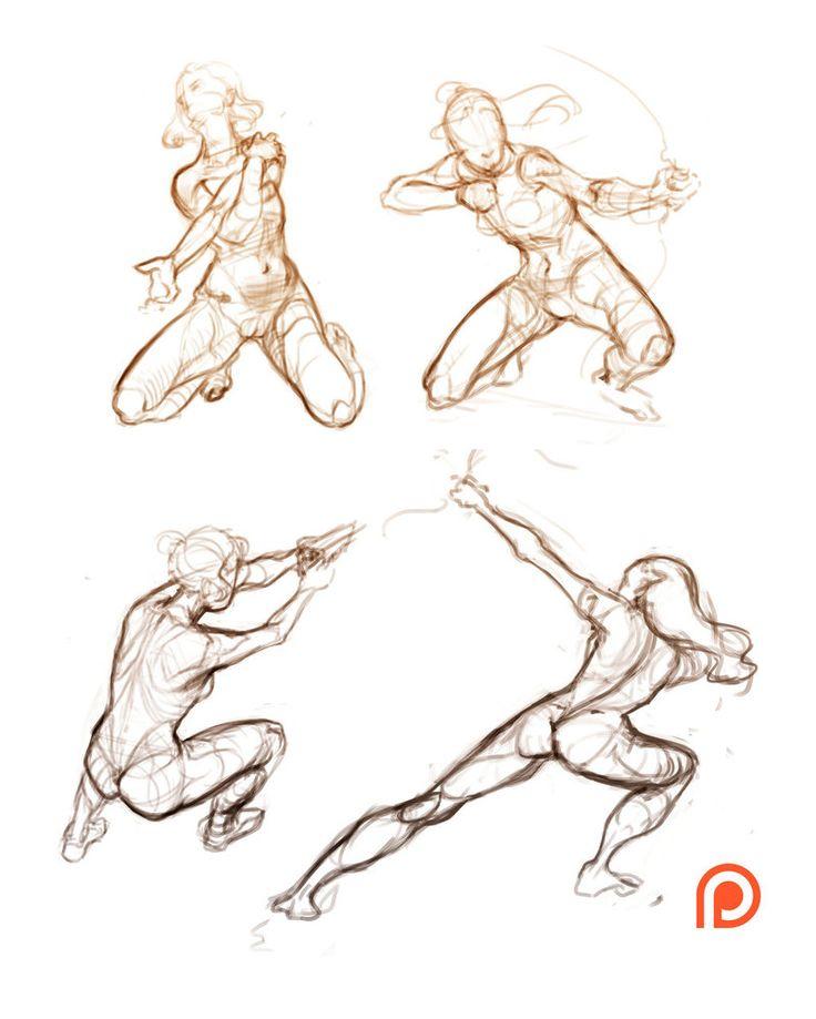Sketch (poses) by Nieris on DeviantArt