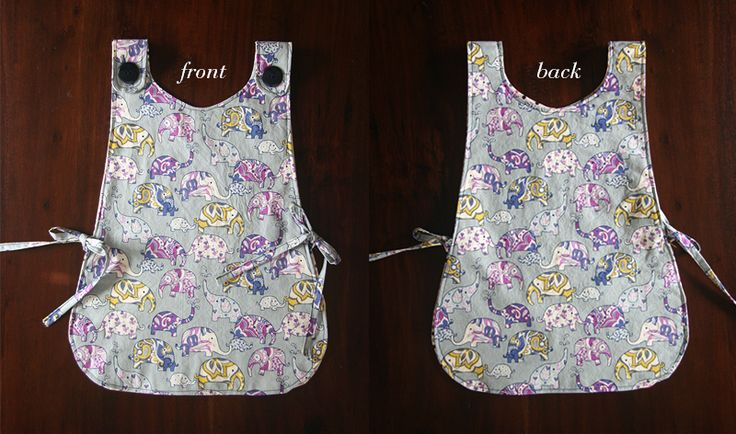 Sweet art smock with free pattern and tutorial