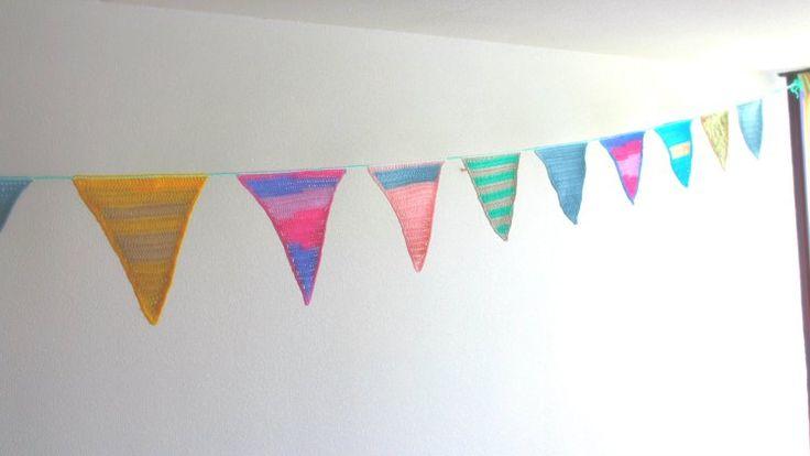 Birthday Garland   Haak Nerd - free crochet pattern