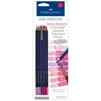 Faber-Castell - Watercolor Pencils need red, blue, green, and neutral