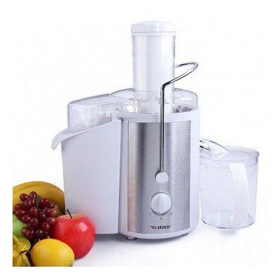 700-watt motor operates at 14,000 RPM for maximum extraction Heavy-duty compact juice fountain with centered knife blade assembly Extra-large 3-inch centered feed tube; stainless-steel filter ensures pulp-free results