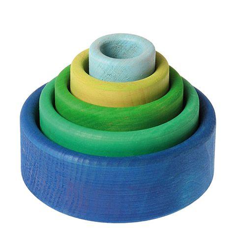 bols-gigognes-à-empiler-jeu-de-motricite-fine-tri-empilage-en-bois-naturel-non-vernis-grimms-spiel-und-holz-bleu