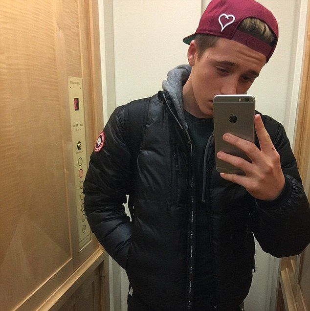 Brooklyn Beckham's transformation as he turns sweet 16! #dailymail