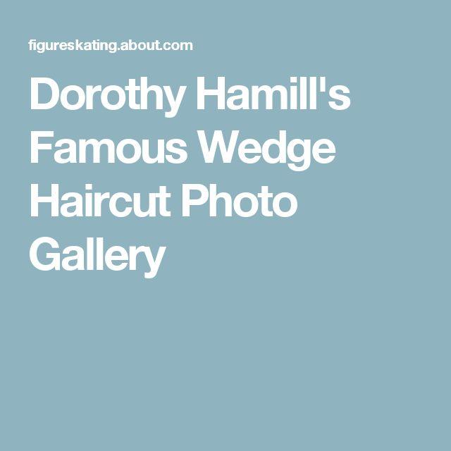 Astonishing 17 Best Idees A Propos De Dorothy Hamill Haircut Sur Pinterest Short Hairstyles Gunalazisus