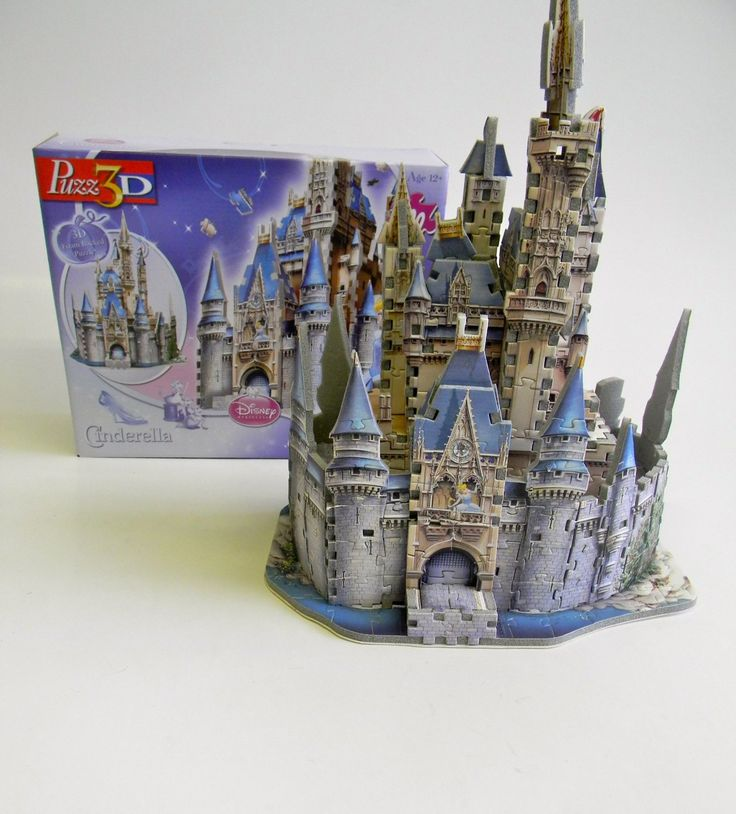 original 3d crystal puzzle carousel instructions