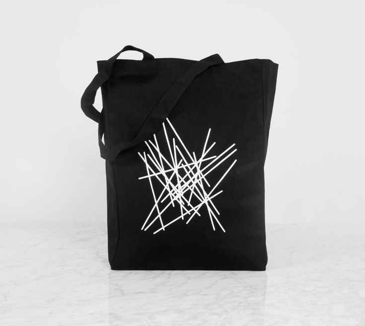 THE GEOMETRY OF PASTA TOTE BAGS Our natural 10oz cotton canvas bags measure approx 395 x 310 x 110mm wide. They are perfect for shopping or as your everyday bag! Available in four designs – choose your favourite pasta shape.