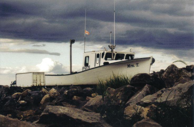 #boat #ocean #beach #clouds #film #pentax MADDY HOPE 2013