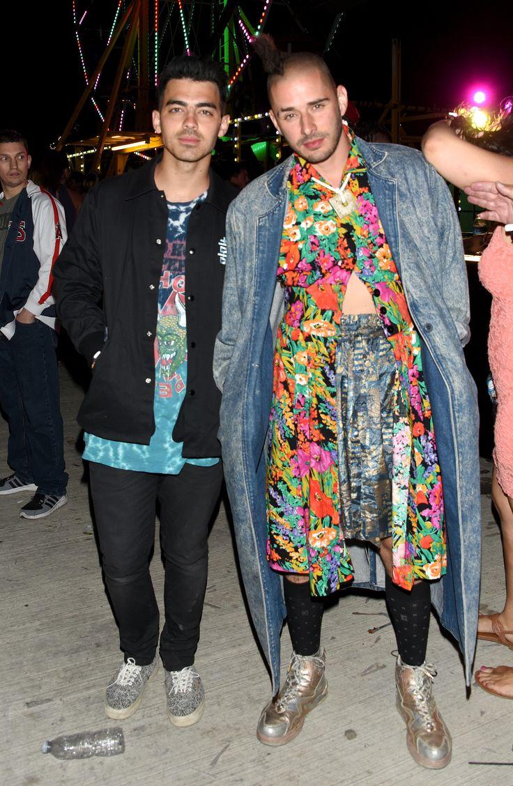 Joe Jonas and Cole Whittle
