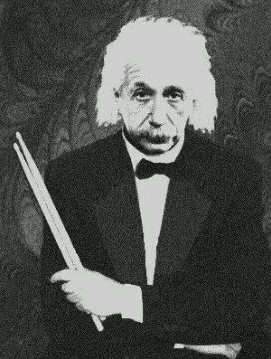 It's true! IQ and drumsticks---- they go together....