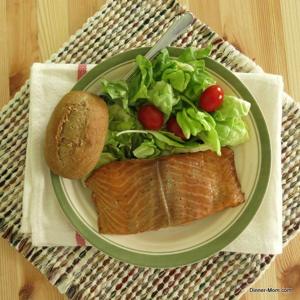 Bourbon Marinated Salmon - This is delicious and sure to turn you into a salmon lover!