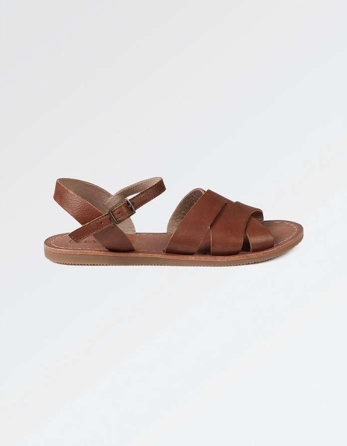 4b9c3d2d6588 Exton Leather Flat Sandals