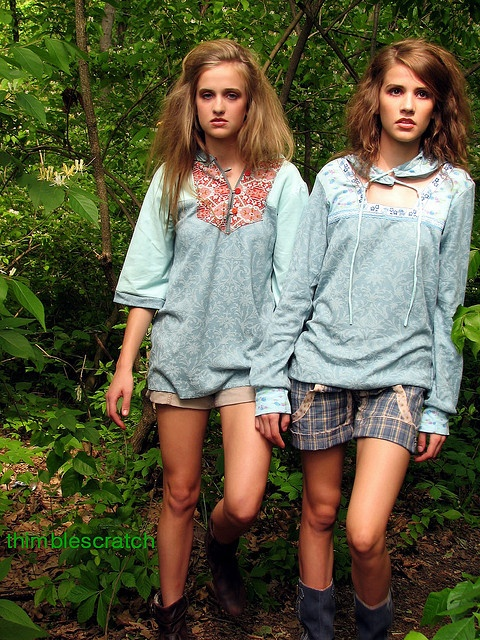 Clothing in New Zealand. I would never wear what they are wearing in my life.