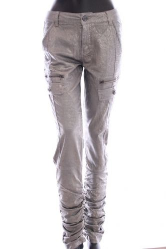 Cream Lily Pants Grey Sky - Bukser - MaMilla