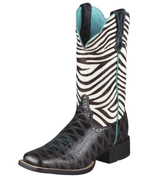 PERFECT!!!!!: Boots Boots Boots, Boots 3, Cutest Boots, Bring Pink, Blue, Zebras Cowboys, Cousins, Cowboys Boots, Receptions Shoes
