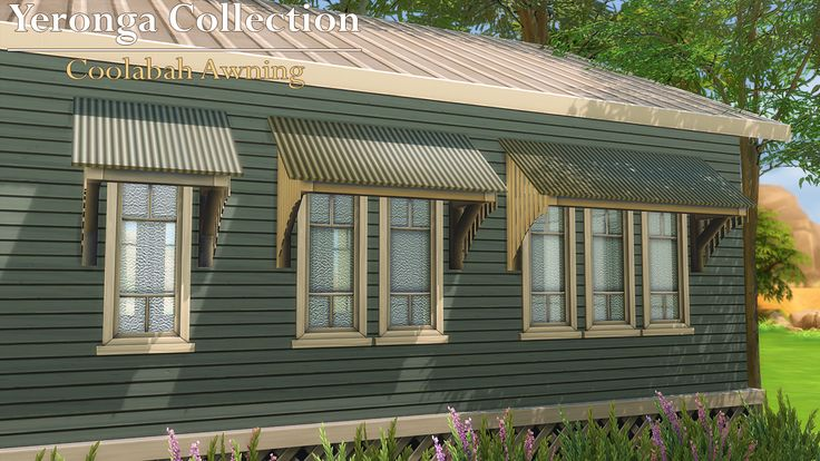 Mod The Sims - Coolabah Awning (Yeronga Collection)