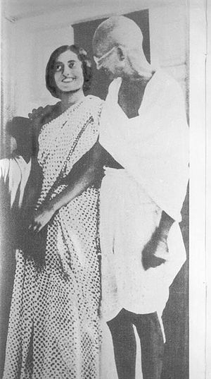 Mohandas K. Gandhi and Indira Gandhi. Indira Gandhi Quiz Questions with Answers