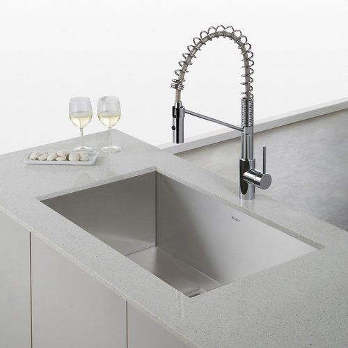 Found it at AllModern - Oletto™ Single Lever Commercial Style Kitchen Faucet