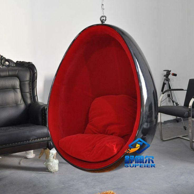 17 mejores ideas sobre silla de huevo colgante en - Sillas colgantes del techo ...