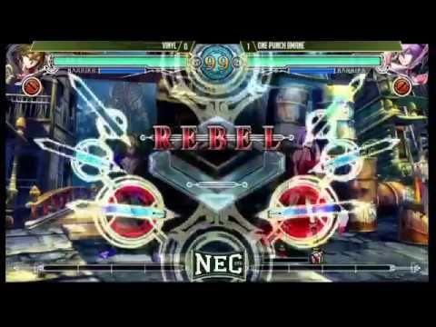NEC 17 Blazblue Central Fiction Pools and Top 16 Part 1