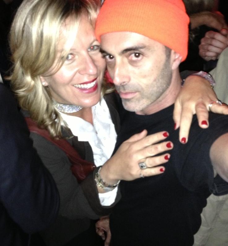 Venezia, Biennale, Trussardi Party, io e un vecchio amico: Giambattista Valli