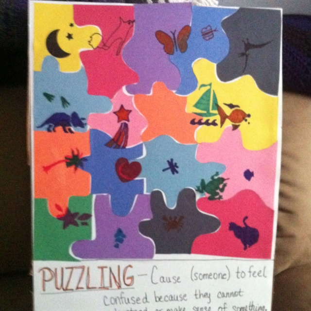 Help me with my essay topic on Puzzle!?