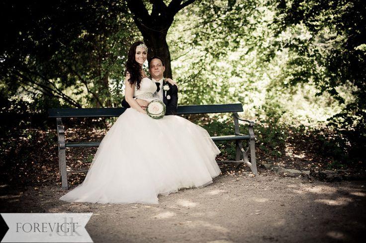 Min mand og min Rikke G kjole ❤️
