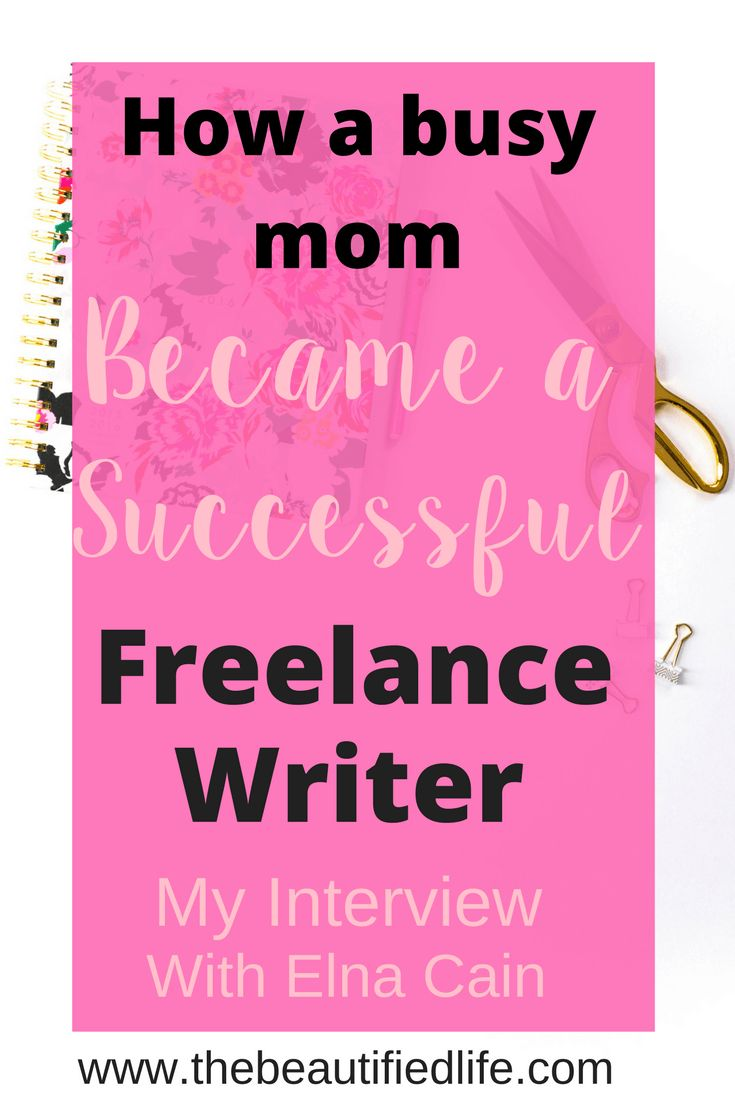 I interviewed a successful freelance writer who explained how she was able to make a full-time income freelance writing in 6 months and...