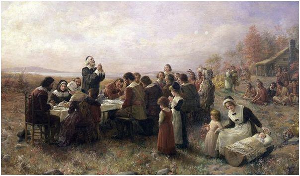 Święto Dziękczynienia i Amerykanie...