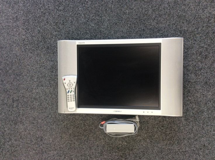 "Sharp Aquos LC-20B4U-SM 20"" Inch Screen LCD Television 4:3 Non-Wide Screen TV. Priced at $49.99, available at Gadgets and Gold!"