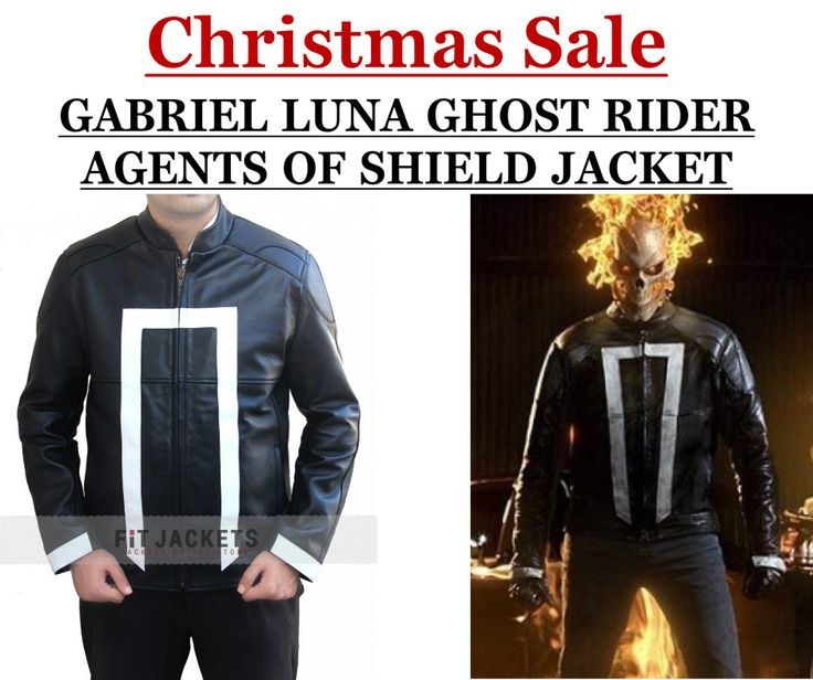 Super new Gabriel Luna Ghost Rider Agents of Shiled Jacket for sale fitjackets!!  #GhostRider #Movie #GabrielLuna #Christmas #Merrychristmas #HappyChristmas #christmasDeal #christmasSale #ChristmasShopping #WinterFashion #Holiday #Celebrity #Shopping #Stylish #Fashion #MensJackets #LeatherOutfit #MensFashion #MensWear