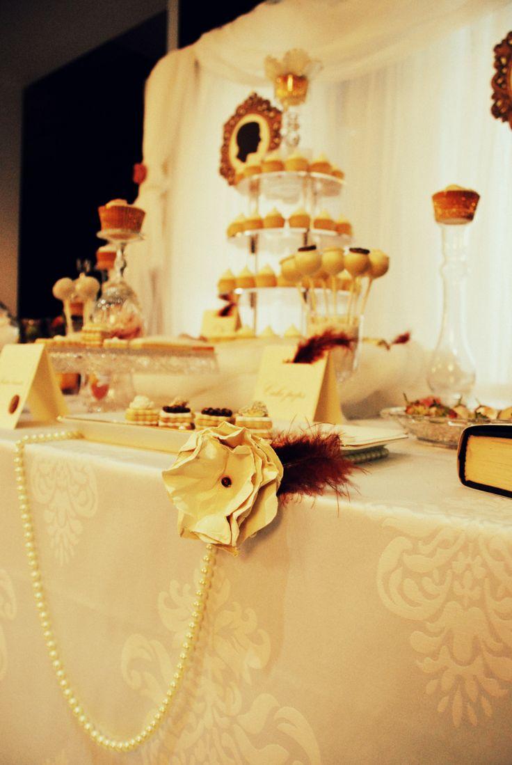 The 20's Dessert Table