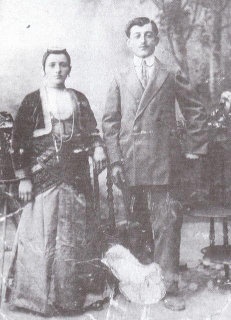 Santeos: Ελένη Λιανίδου με τον σύζυγο της Περικλή Λιανίδη.