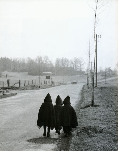 Willy Ronis  Walking to School, 1954  From Willy Ronis