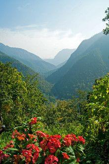 Mae Hong Son - Stadt und Provinz. Wunderschöne Naturlandschaften im Norden Thailands.