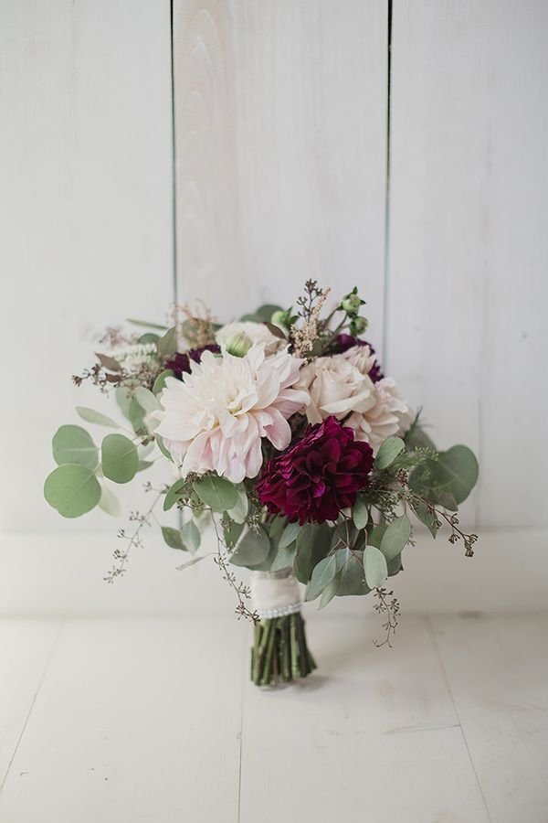 25 best burgundy bouquet ideas on pinterest burgundy for Simple fall bridesmaid bouquets