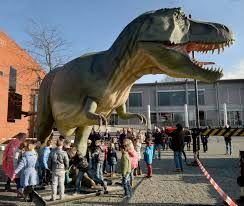 Dino expositie in het Limburgs Museum in Venlo