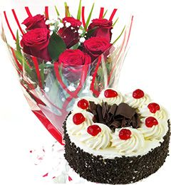 Best Gifts  100% Pure Veg Cake and Flower Home Delivery Shop in Jammu City Sameday Midnight Order Online