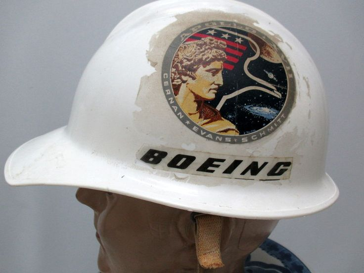 Vintage 70s NASA Hat, Apollo Program Hat, Space Aviation Hat, Boeing Corporation Hat by RosasVintageFinds on Etsy
